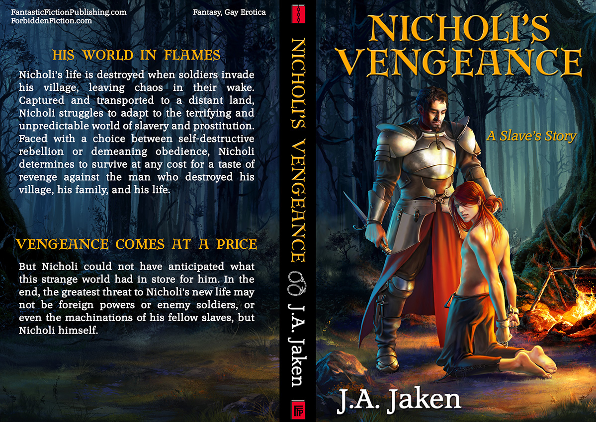Full cover for Nicholi's Vengeance