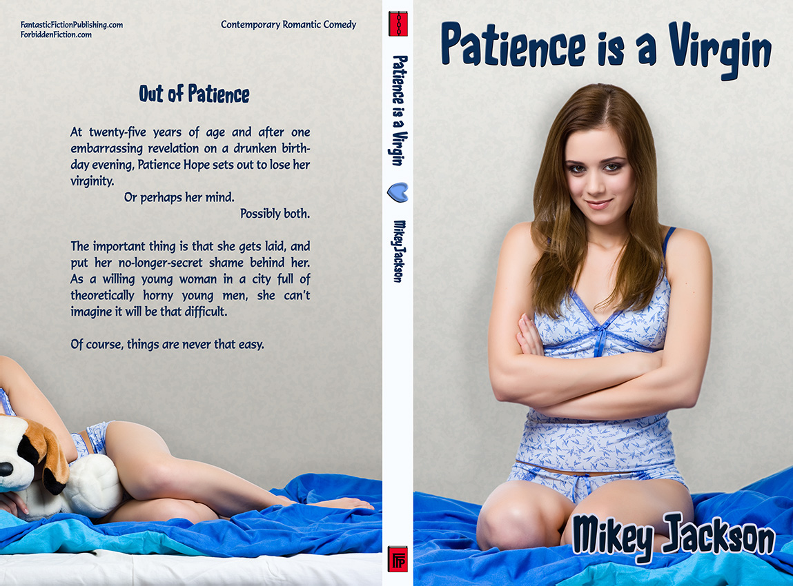 Full cover for Patience is a Virgin