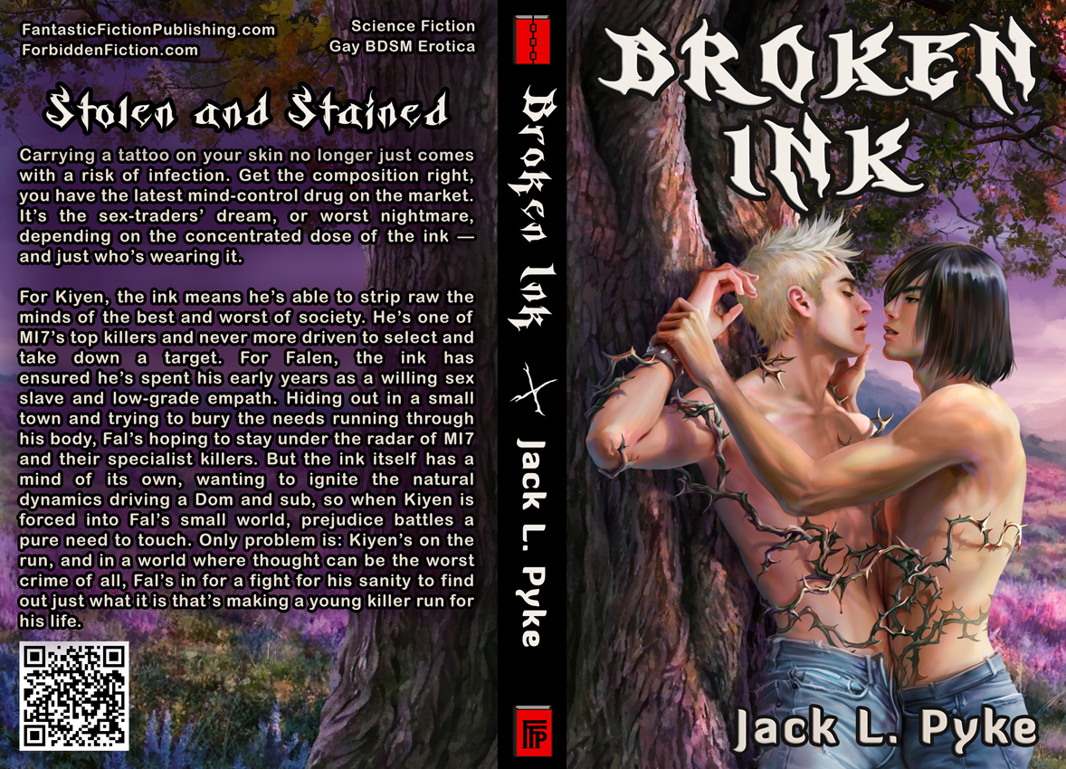 Cover for Broken Ink