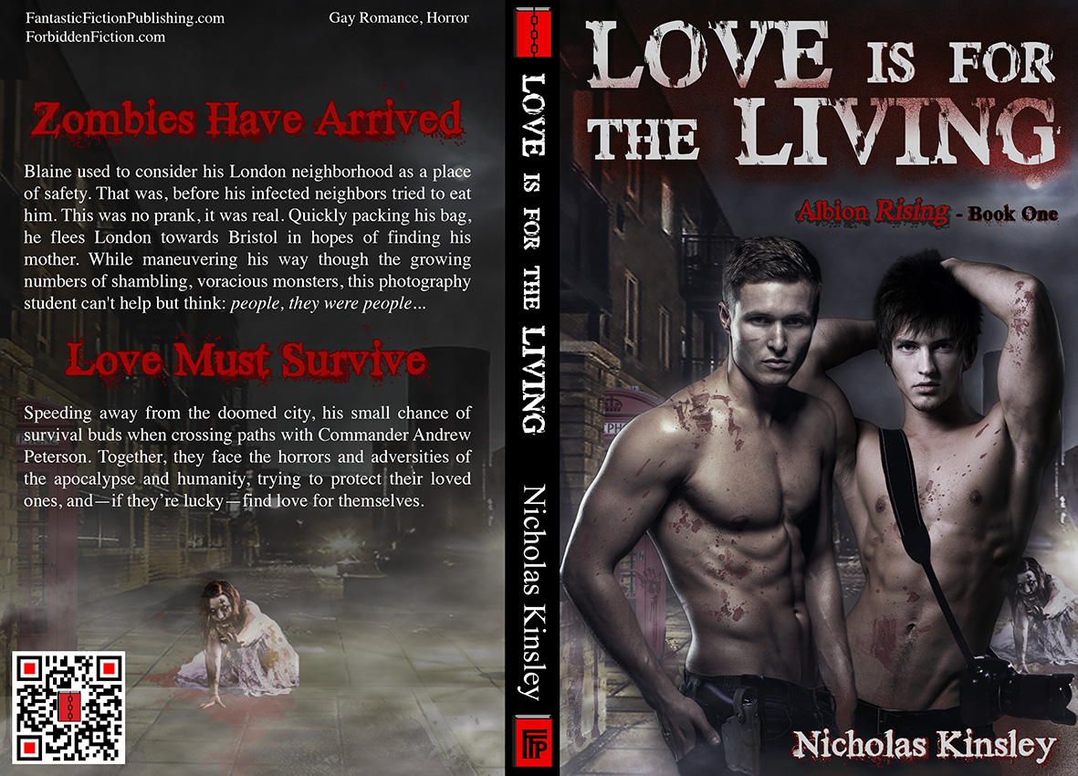 Full cover for Love is for the Living