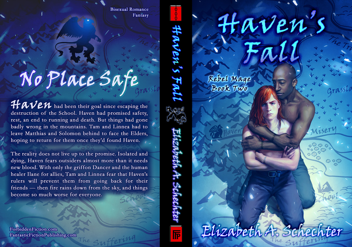 Full cover for Haven's Fall