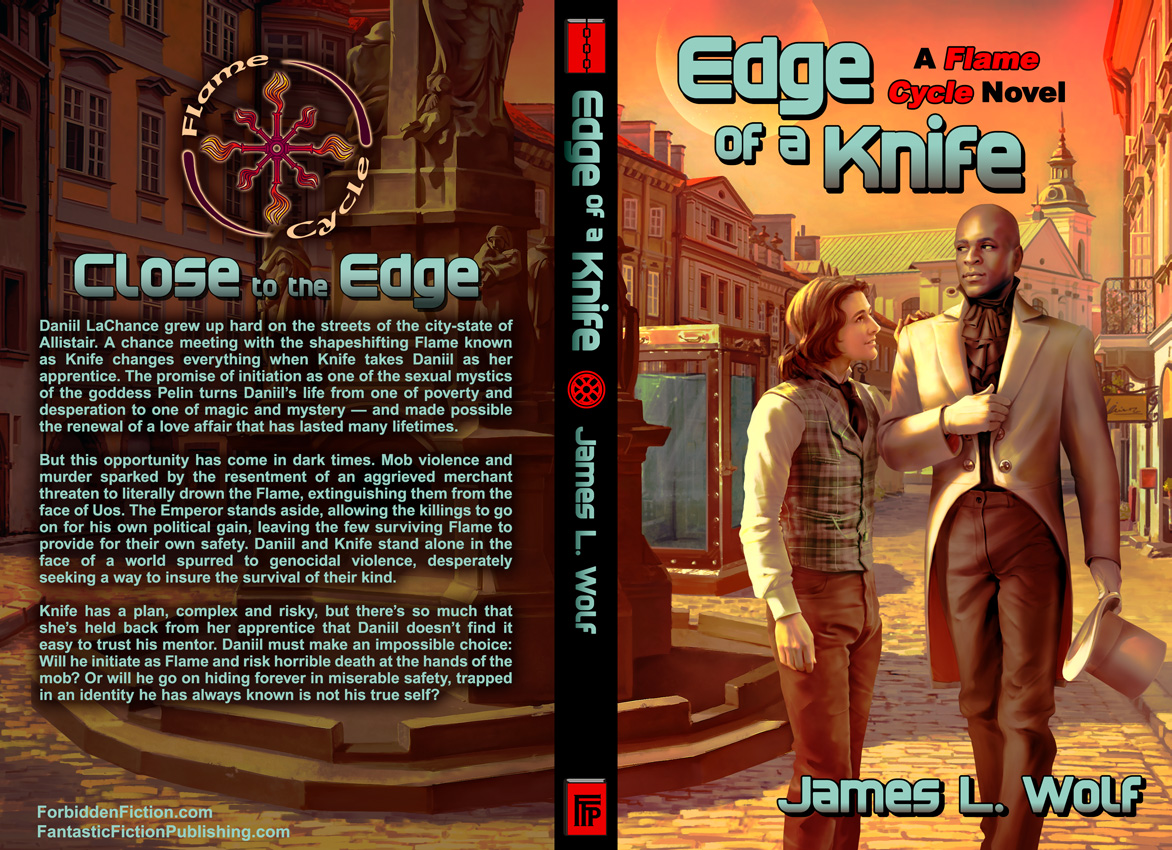 Full cover of Edge of a Knife