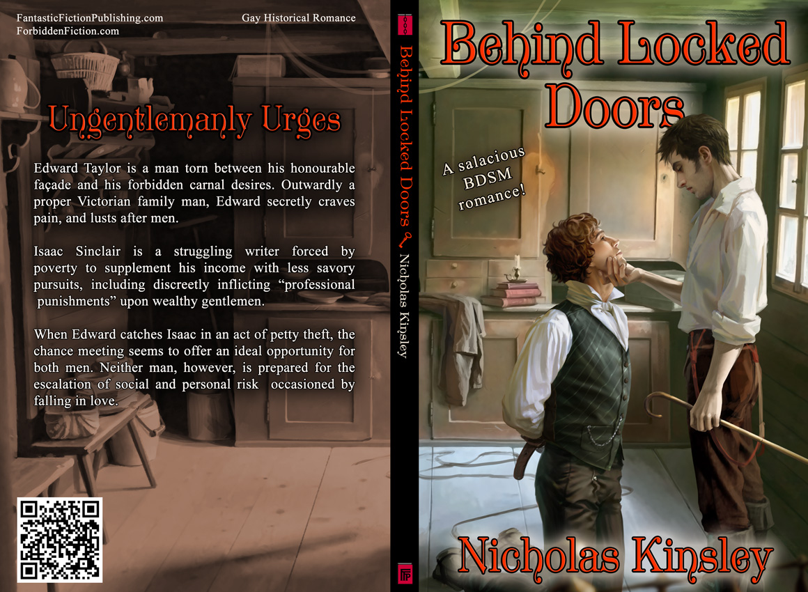 Full cover for Behind Locked Doors