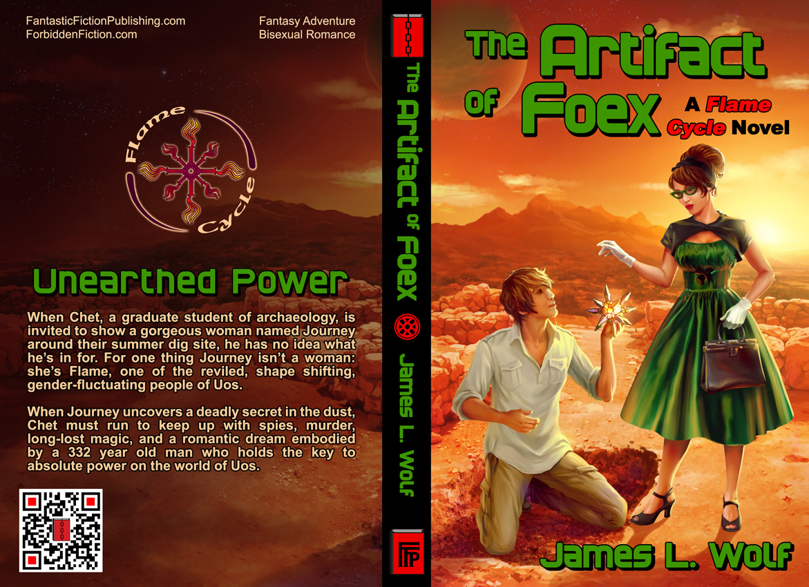 Full cover for The Artefact of Foex